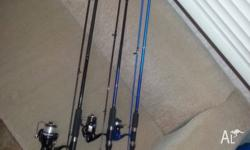 *BRAND NEW* 5 fishing rods - from light rods right up