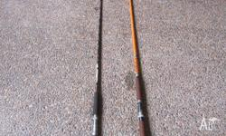 Forsale 2 Fishing Rods 1 is 3mtrs long the other