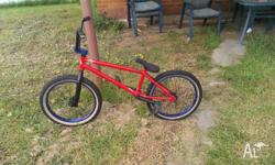 Selling my bmx bike because I don't ride it anymore.