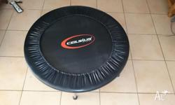 Measuring 900mm across this fitness trampoline from