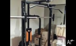 Fitquip Smith Machine All In One Gym Barely used and in