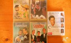For sale are: - Sabrina - Breakfast at Tiffany's -