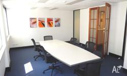 Flexible Short Term Brisbane CBD Office Space - Fully