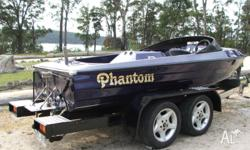 Flightcraft phantom ski boat 308 holden dog clutch New