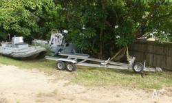 I have a Float on aluminium tandem trailer suitable to