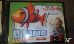 Brand new unopened flying nemo and flying shark One of