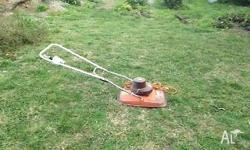Flymo electric lawnmower in good working order for