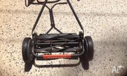 Flymo H40 push mower in good used condition. Selling as