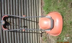 I have a Flymo mower in fairly good condition. The