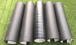 I'm selling 5 home-made foam rollers that I used for my