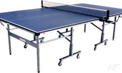 Fold up Table tennis table and gear good condition