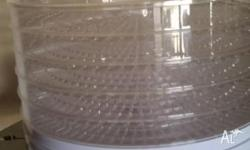 Food Dehydrator New Never Used Dia 33 cm x H 25 cm 245