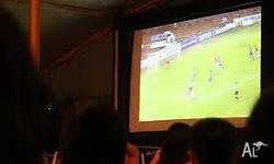 Cant get tickets? Last minute projector hire. You can