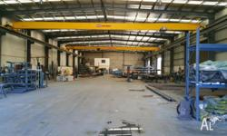 Height + Cranes + Yard ideal for steel fabrication or