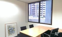 For Lease. 13 M2 shared office space in the heart of