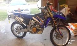 Hi up for sale is my 2009 Yamaha YZ250F, its in really