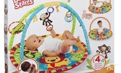 for sale Bright Starts jungle activity gym $15. Ages: