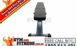 The Force USA Flat Bench (F-FB) is heavy duty and