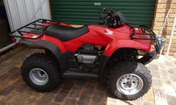 FOR SALE HONDA 250 QUAD BIKE never been used been in