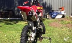 For sale 2009 crf-r 150cc Has only 5 hours on it since
