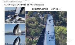 FOR SALE Thompson 8 Sports Boat ZIPPIER Reluctant sail
