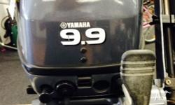 Up for sale is this Yamaha 9.9hp 2stroke outboard