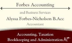 - Bookkeeping - Administration - Taxation - Accounting