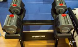 Up for sale is a set of Force USA 2x 25KG Adjustable