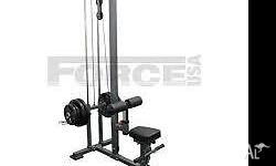 GRAB A GREAT PACKAGE 1x Force USA Lat Pulldown Machine