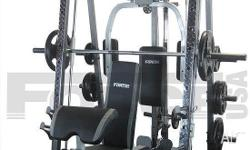 IDEAL BEGINNERS GYM OR FOR THAT SERIOUS GYM JUNKIE. HAS