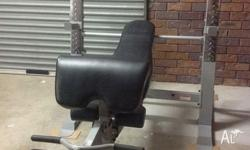 Great for home gym use can bench on Flat / Incline /