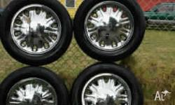 Have a set of 4 16inch chrome Ltd wheels in excellent