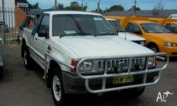 FORD,COURIER,1994, 4WD, White, P/UP, 2606cc, 92kW,