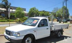 FORD, COURIER, 2003, C/CHAS, 2.6, 4cyl, 5 SP MANUAL,