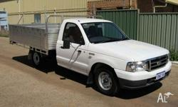 FORD,COURIER,2005, C/CHAS, 2.6, 4cyl, 4 SP AUTOMATIC,