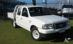 FORD,Courier,PH,2005, Rear Wheel Drive, White, 4dr Dual