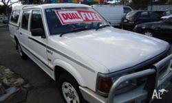 FORD,COURIER,1997, RWD, WHITE, GREY trim, CREW CAB