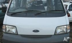 FORD ECONOVAN 2003 Wrecking CompleteVan - ALL PARTS 2Lt
