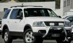 FORD,EXPLORER,UX,2003, 4WD, White, CLOTH trim, 4D