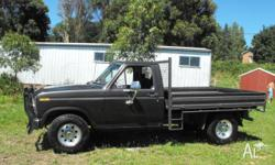 Ford F250, 1981 model, 4 speed manual, 351 cleveland,