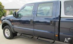 Ford F250 XLT V8 Diesel Dual Cab Auto with Carryboy
