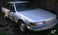 Ford Fairlane 1991 NA II Silver 4spd 6cyl auto.Been a