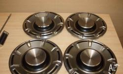 ford fairmont xa hubcaps , been in storage for over 30