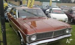 Ford,Fairmont,XY,1970 Rear Wheel Drive Bronze Wine