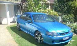 "Ford falcon ba xr6 2002 17"" rims with 4 brand new"