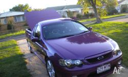 This XR6 BF mkll Utility is in excellent condition,low