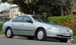 IDEAL FAMILY SEDAN, LOW KILOMETRES FOR ITS AGE AND VERY