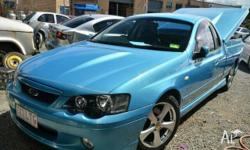 FORD, FALCON, XR8 SUPER CAB, 2005, 0, Yellow, UTILITY,