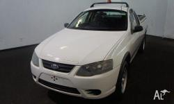 FORD,FALCON,BF MKII,2007, RWD, WINTER WHITE, UTILITY,