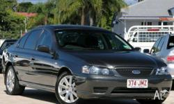 FORD,FALCON,BF,2006, RWD, Grey, CLOTH trim, 4D SEDAN,